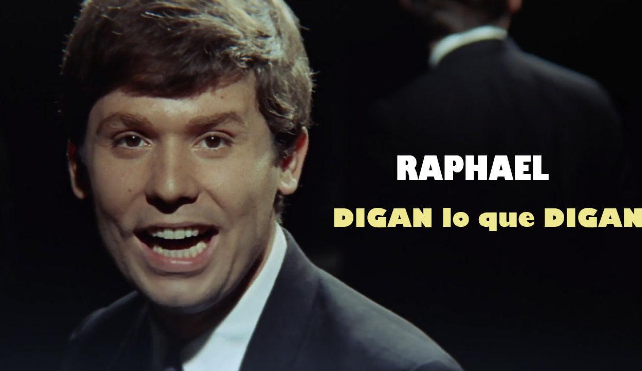 Raphael en la película 'Digan lo que digan'